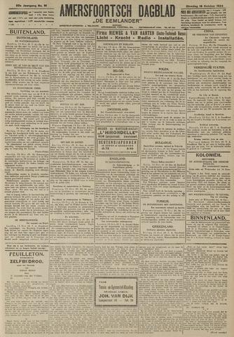 Amersfoortsch Dagblad / De Eemlander 1923-10-16