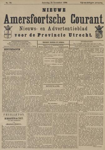 Nieuwe Amersfoortsche Courant 1906-11-24
