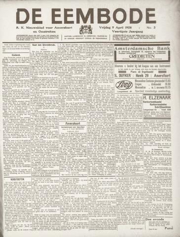 De Eembode 1926-04-09