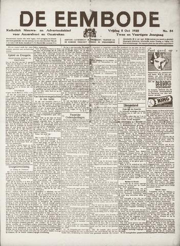 De Eembode 1928-10-05