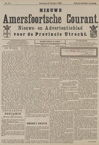 Nieuwe Amersfoortsche Courant 1909-10-30