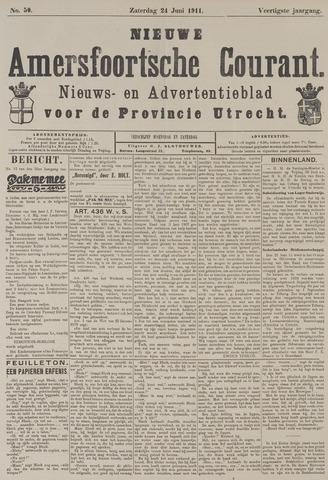 Nieuwe Amersfoortsche Courant 1911-06-24