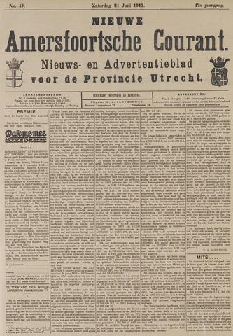 Nieuwe Amersfoortsche Courant 1913-06-21