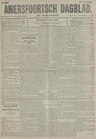 Amersfoortsch Dagblad / De Eemlander 1915-04-27