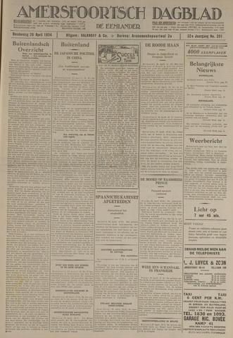 Amersfoortsch Dagblad / De Eemlander 1934-04-26