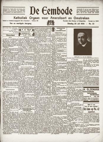 De Eembode 1930-07-22