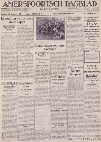 Amersfoortsch Dagblad / De Eemlander 1937-11-18