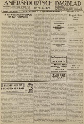 Amersfoortsch Dagblad / De Eemlander 1932-02-01