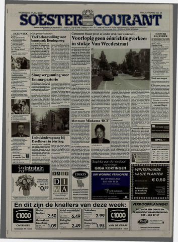 Soester Courant 2002-07-17