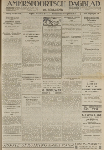 Amersfoortsch Dagblad / De Eemlander 1933-07-25