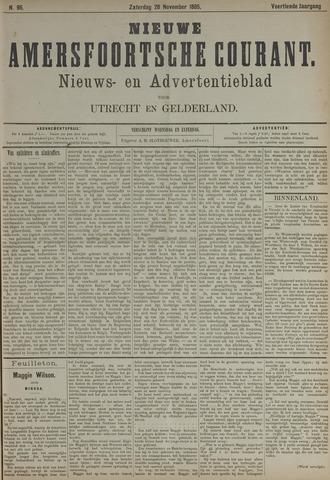 Nieuwe Amersfoortsche Courant 1885-11-28