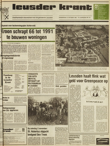 Leusder Krant 1985-10-31