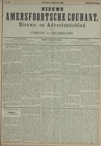 Nieuwe Amersfoortsche Courant 1886-09-08