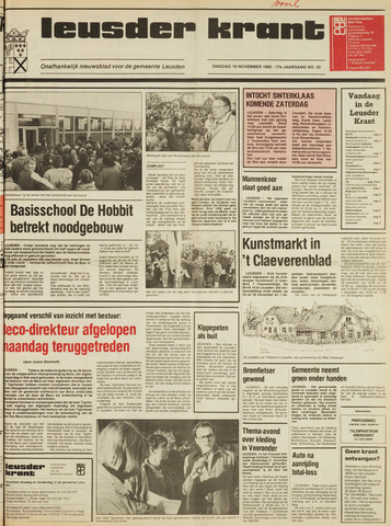 Leusder Krant 1985-11-19