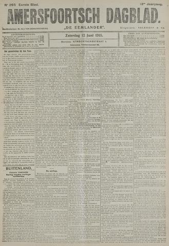 Amersfoortsch Dagblad / De Eemlander 1915-06-12