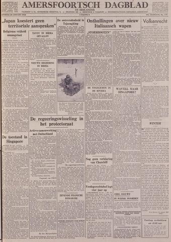 Amersfoortsch Dagblad / De Eemlander 1942-01-20