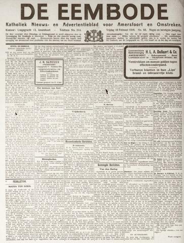 De Eembode 1916-02-18