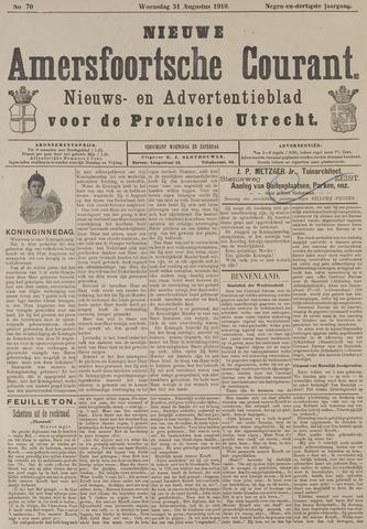Nieuwe Amersfoortsche Courant 1910-08-31