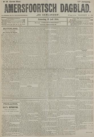 Amersfoortsch Dagblad / De Eemlander 1914-07-18