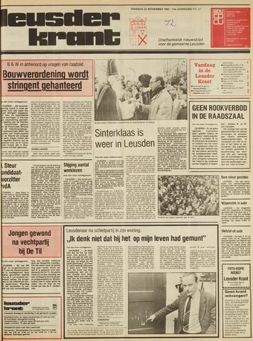 Leusder Krant 1982-11-23