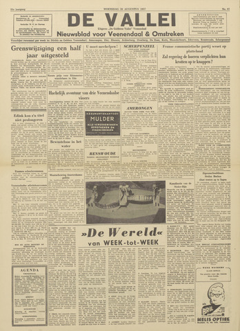 De Vallei 1957-08-28