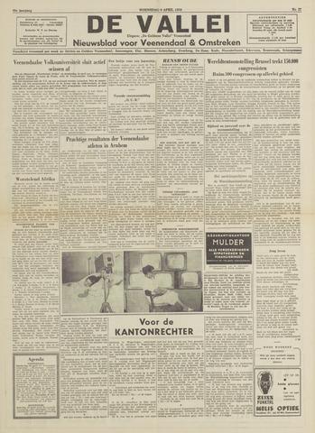 De Vallei 1958-04-09