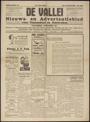 De Vallei 1940-06-21