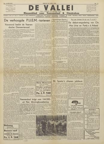 De Vallei 1952-04-25