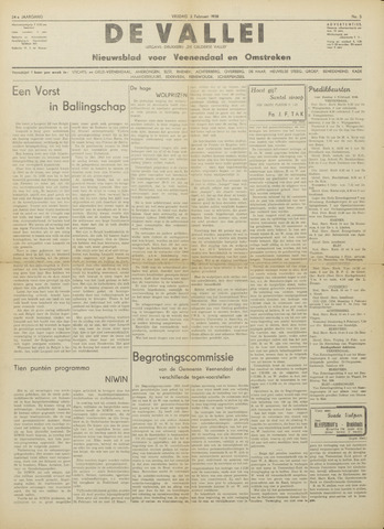 De Vallei 1950-02-03