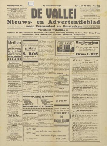 De Vallei 1940-12-27