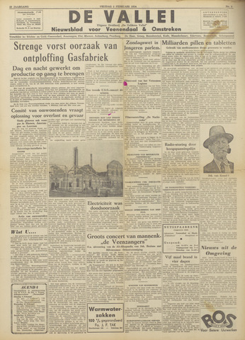 De Vallei 1954-01-22