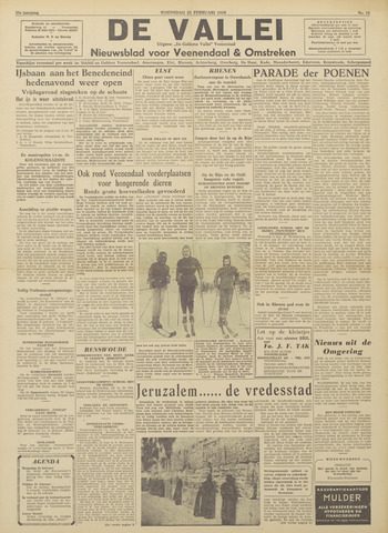 De Vallei 1956-02-22