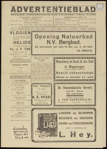 Advertentieblad 1940