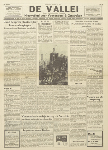 De Vallei 1957-08-09