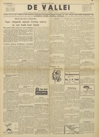 De Vallei 1952-06-20