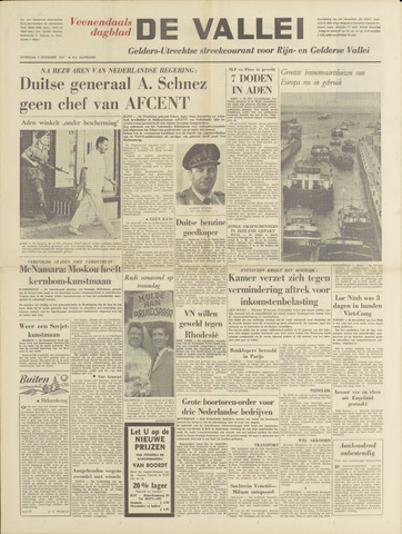 De Vallei 1967-11-04