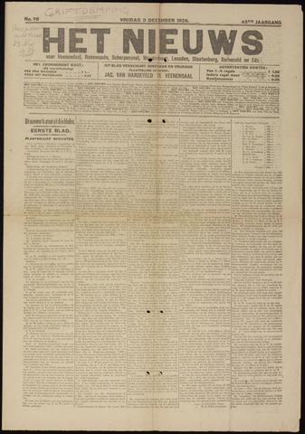 Het Nieuws 1926-12-03