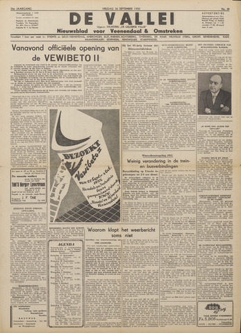 De Vallei 1952-09-26