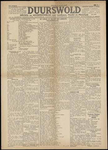 Nieuws- en Advertentieblad, Duurswold nl 1945