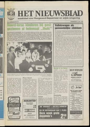 Het Nieuwsblad nl 1990-07-05