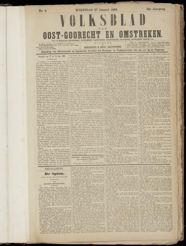 (Volksblad) Oost-Goorecht en Omstreken nl 1892-01-27