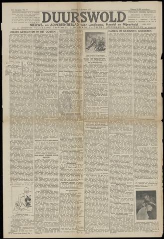 Nieuws- en Advertentieblad, Duurswold nl 1943-10-23