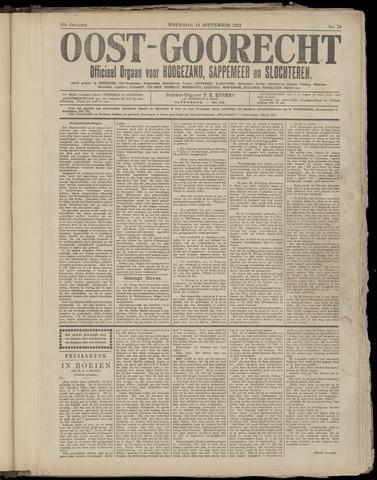 (Volksblad) Oost-Goorecht en Omstreken nl 1921-09-14