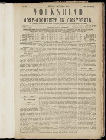 (Volksblad) Oost-Goorecht en Omstreken nl 1892-02-14
