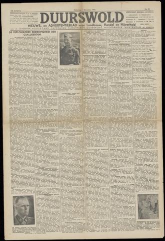 Nieuws- en Advertentieblad, Duurswold nl 1943-12-11