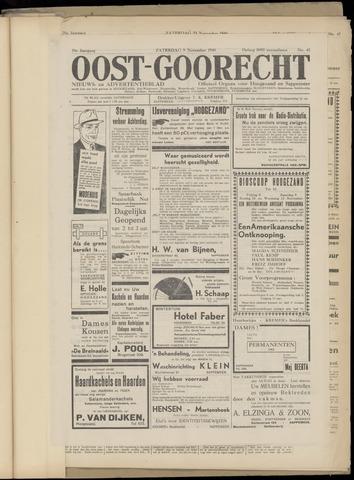 (Volksblad) Oost-Goorecht en Omstreken nl 1940-11-09