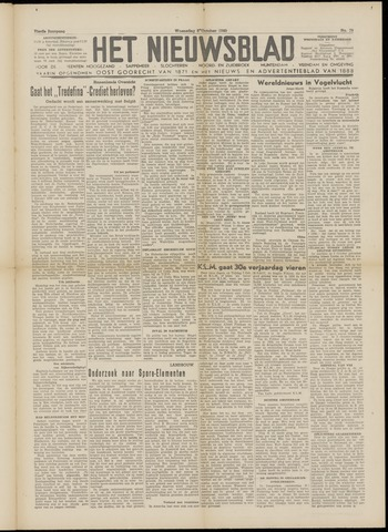 Het Nieuwsblad nl 1949-10-05