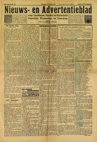 Nieuws- en Advertentieblad, Sappemeer nl 1940-10-19
