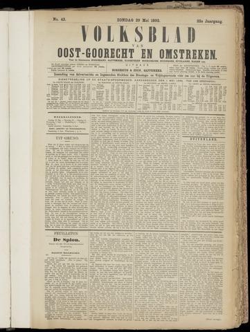 (Volksblad) Oost-Goorecht en Omstreken nl 1892-05-29