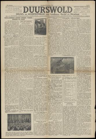 Nieuws- en Advertentieblad, Duurswold nl 1943-11-13